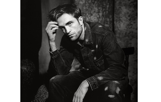 "A portrait of Robert Pattinson in ""The Dior Sessions."""