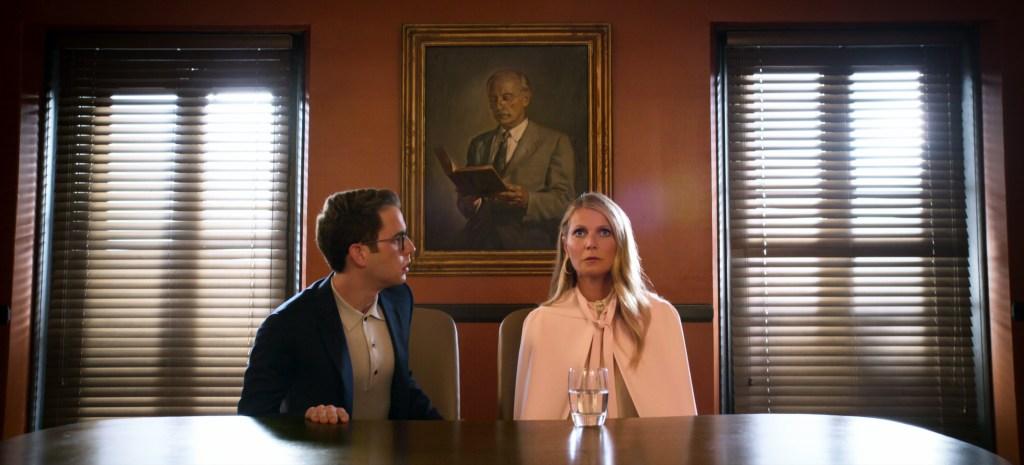 """Ben Platt and Gwyneth Paltrow in """"The Politician."""""""