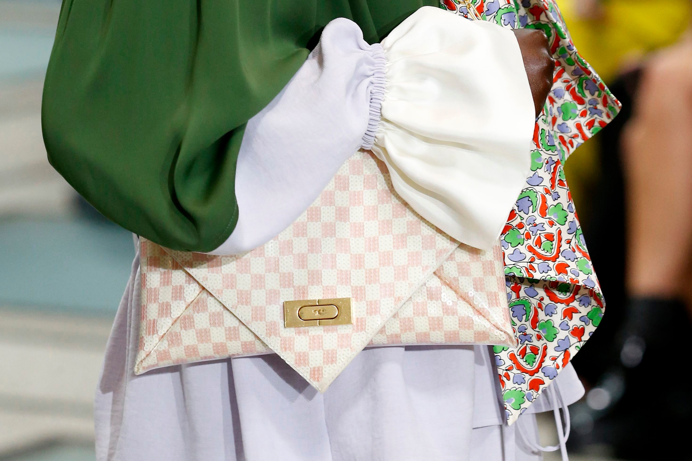 Details at Tory Burch RTW Spring 2020
