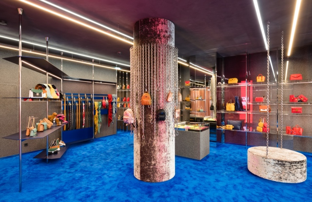 The new MCM Store at Maximilianstrasse in Munich, interior designed by Gonzalez Haase AAS