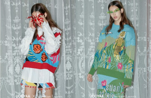 Looks from Uooyaa's Christian Lacroix capsule collection