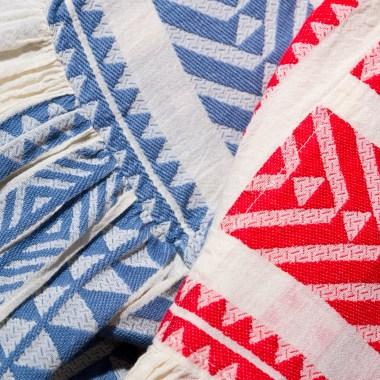 Organic cotton designs by Varvaressos.