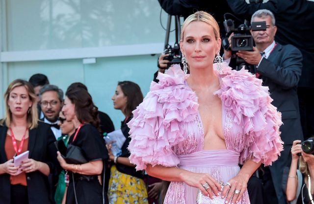 Molly Sims'Marriage Story' premiere, 76th Venice Film Festival, Italy - 29 Aug 2019Wearing Zuhair Murad same outfit as catwalk model *10068478ak