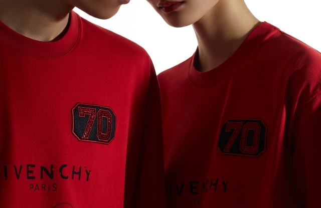 Givenchy debuts limited T-shirts to celebrate the 70th anniversary of China