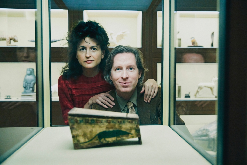 Wes Anderson and Juman Malouf.