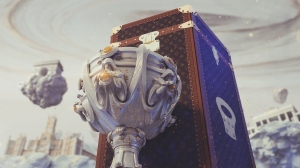 Louis Vuitton has made a trunk for the League of Legends World Championship Summoner's Cup.