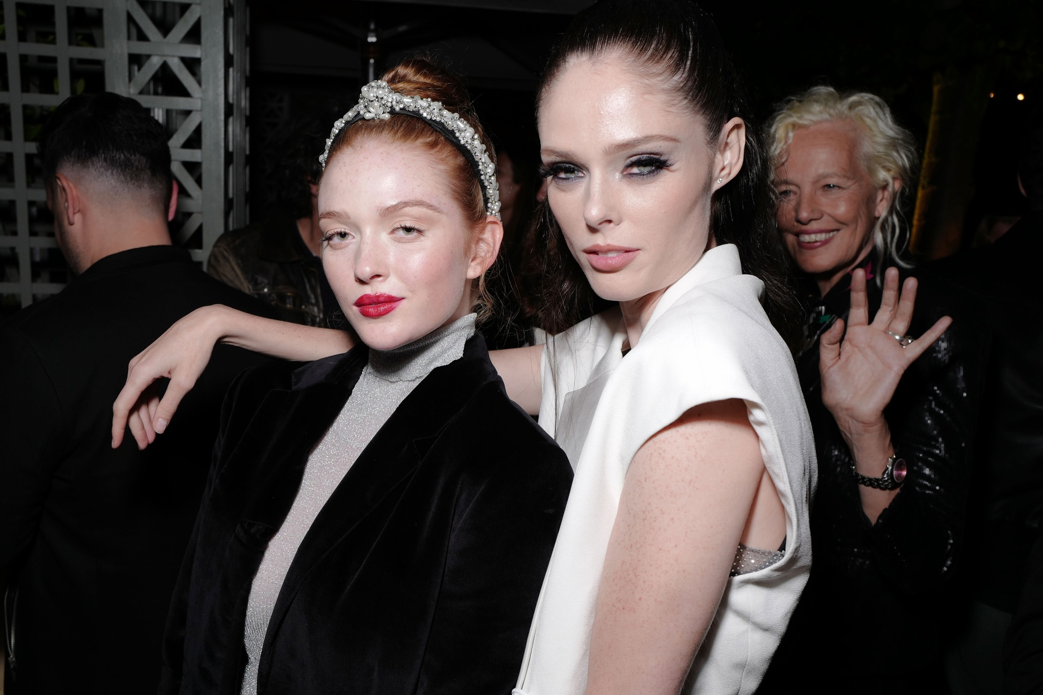 Larsen Thompson and Coco Rocha