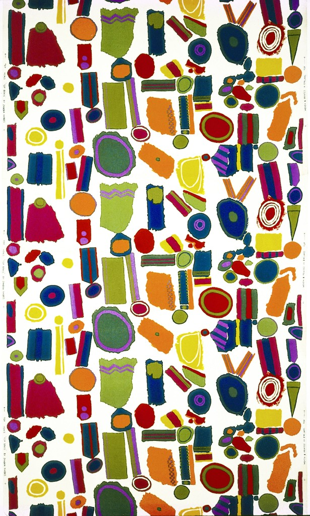 Zandra Rhodes, Brass Print, 1964