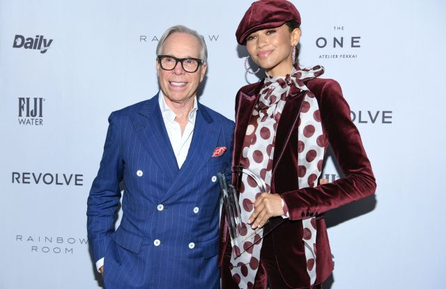 Zendaya Debuts New Tommy Hilfiger Collection Before Runway Show