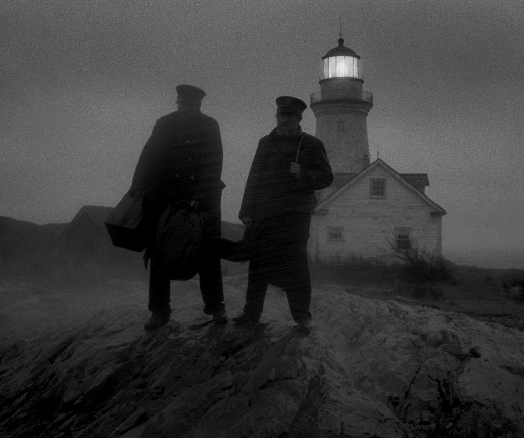 """A still from """"The Lighthouse."""""""