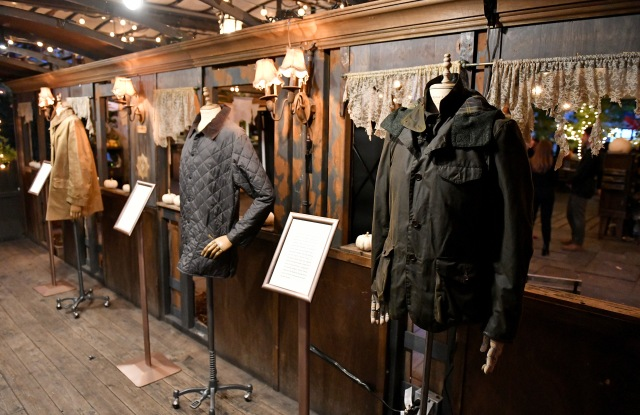 Archival pieces from Barbour.