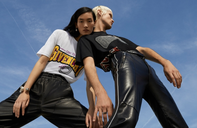 Items from the capsule collection available exclusively on Givenchy's U.S. e-commerce site.