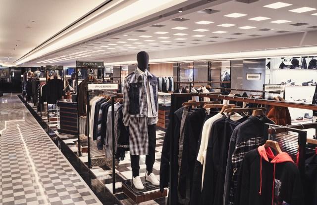 Harrods' new men's wear space