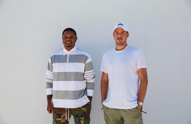 Unknwn co-founders Frankie Walker Jr and Jaron Kanfer