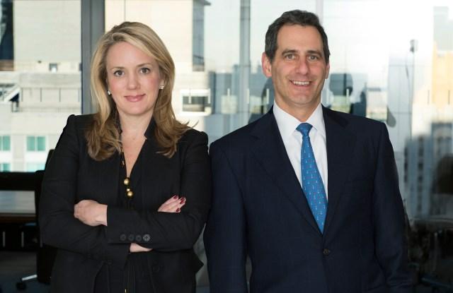 PJ Solomon's Cathy Leonhardt and David Shiffman.