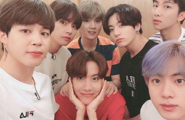 BTS is teaming up with Fila.