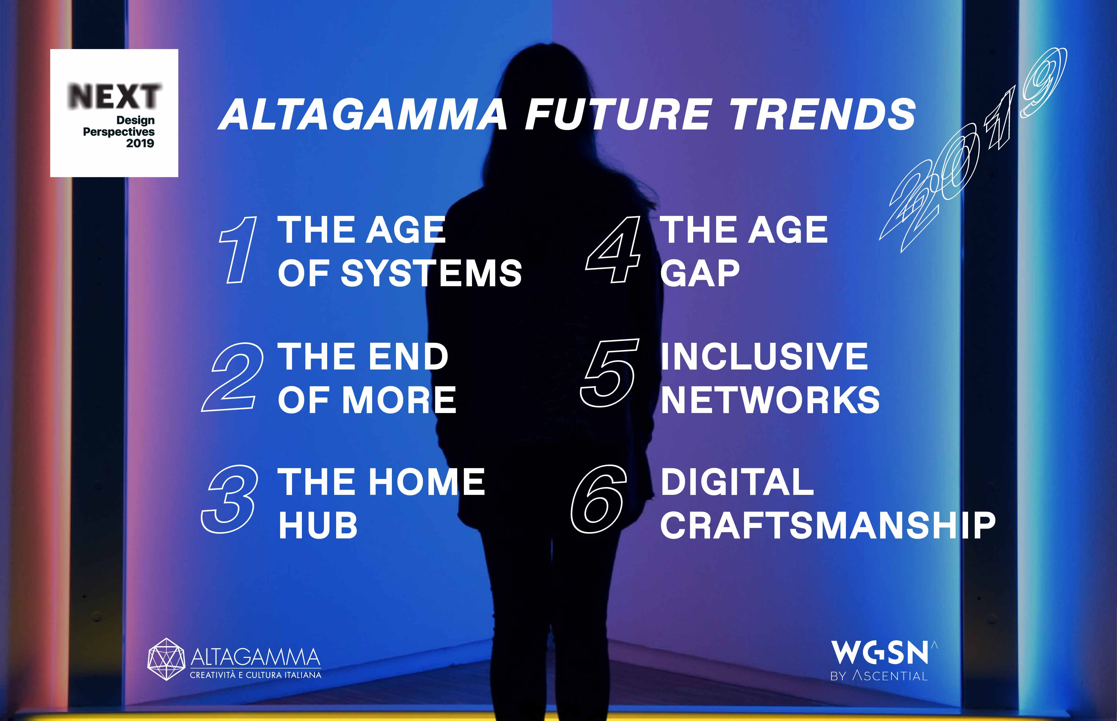 Altagamma's future trends developed by WGSN.