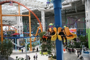 American Dream, the 3 million-square-foot entertainment and shopping center unveiled its Nickelodeon Universe during a preview for friends and family