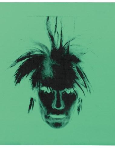 Andy Warhol, Self-portrait (Fright Wig) 1986
