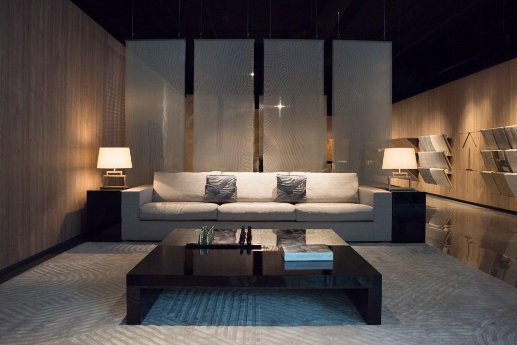 The new Armani Casa store in Vancouver.