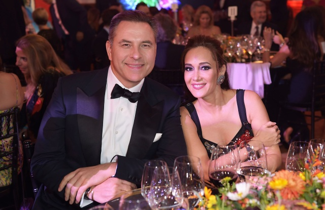 David Walliams and Batia Ofer