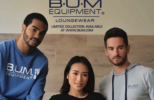 Bum Equipment's new ad campaign will focus on loungewear.