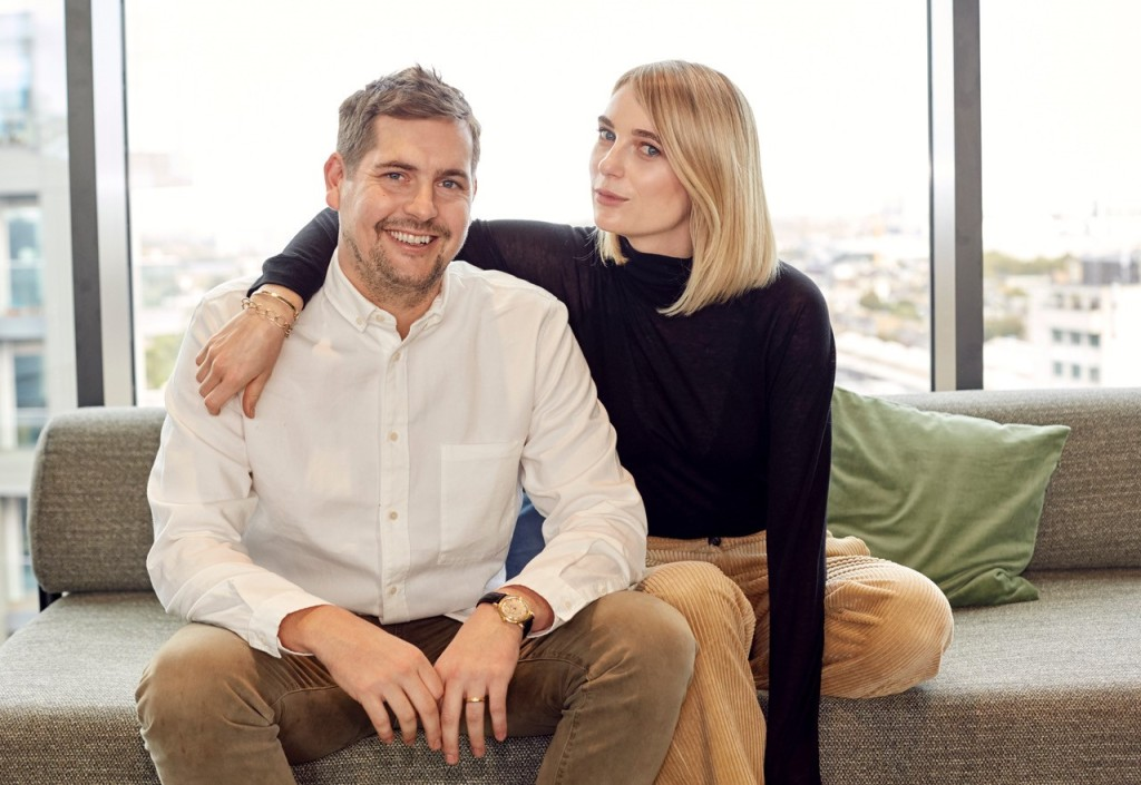 Varley founders Ben and Lara Mead