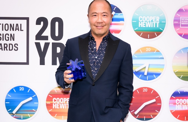 Derek Lam, recipient of the Fashion Design award