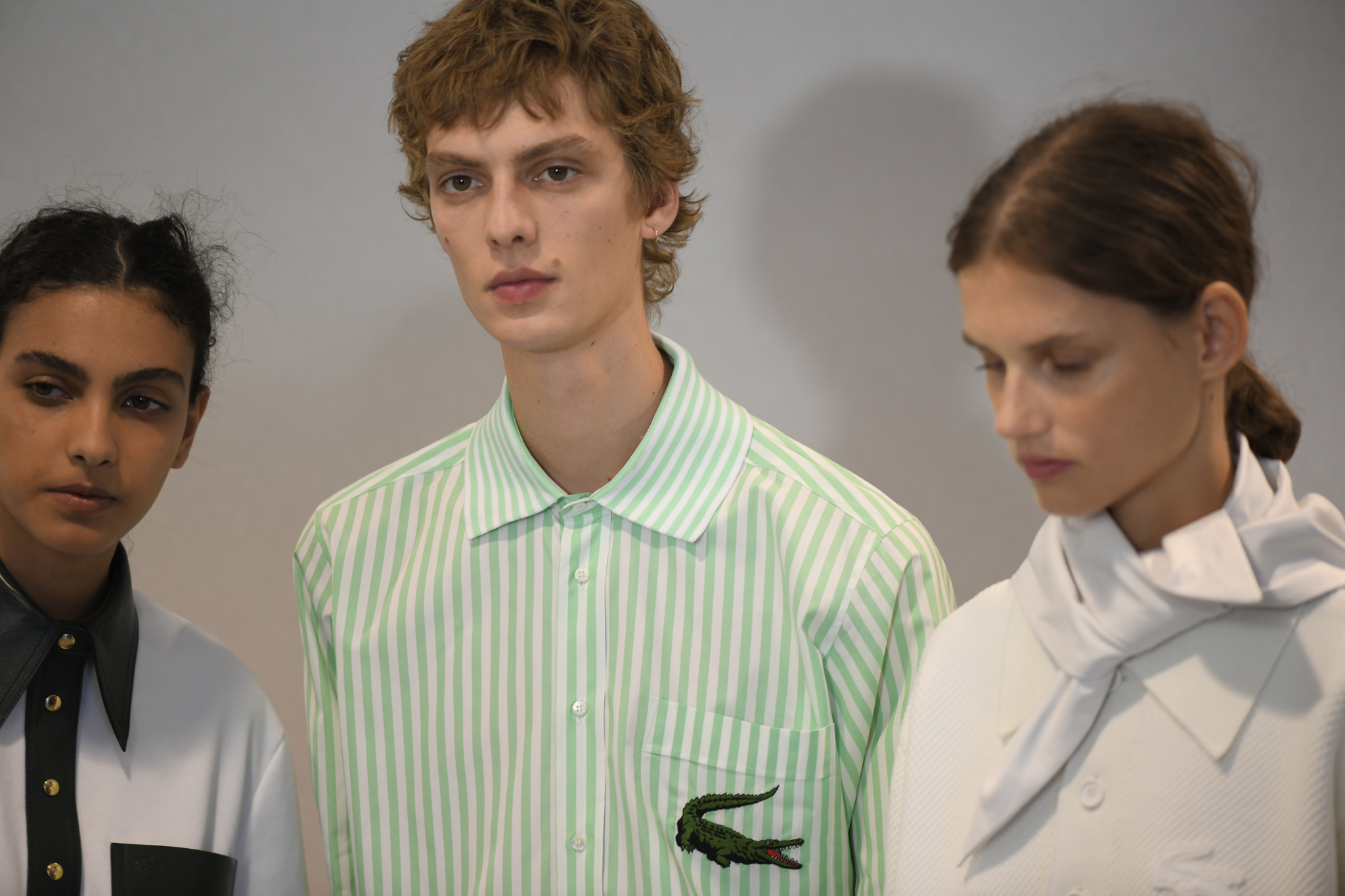 Backstage at Lacoste RTW Spring 2020