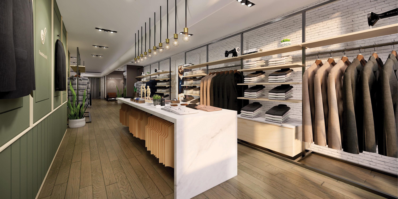 A rendering of Ledbury's Greenwich Village store.