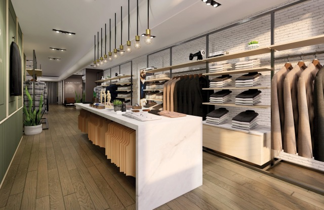 A rendering of Ledbury's Greenwich Village store.