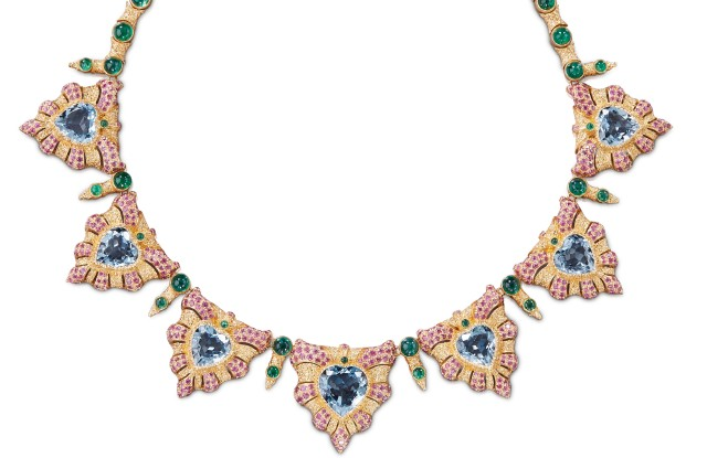 Buccellati's Gran Mogol necklace