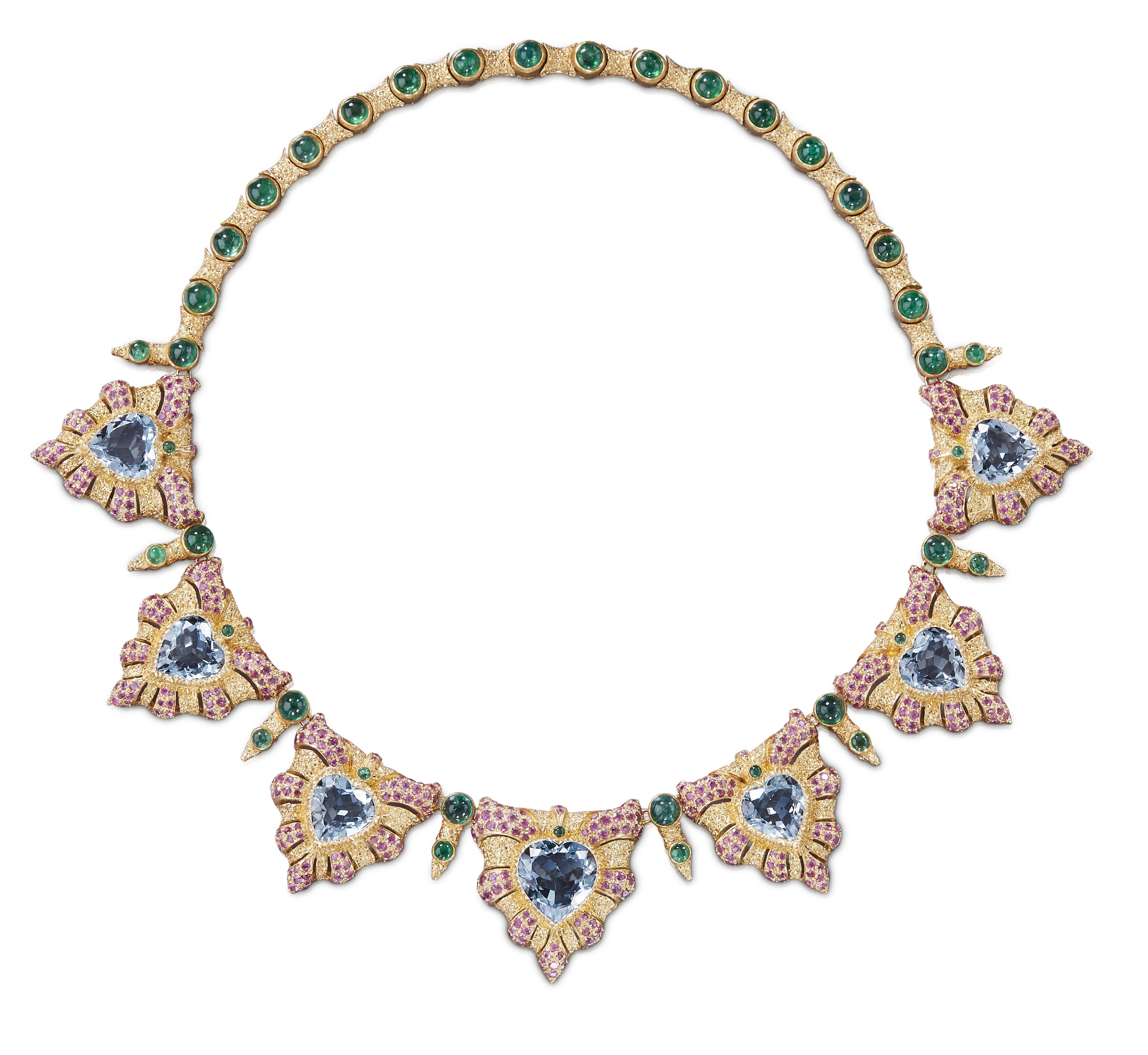 Buccellati's Gran Mogol necklace
