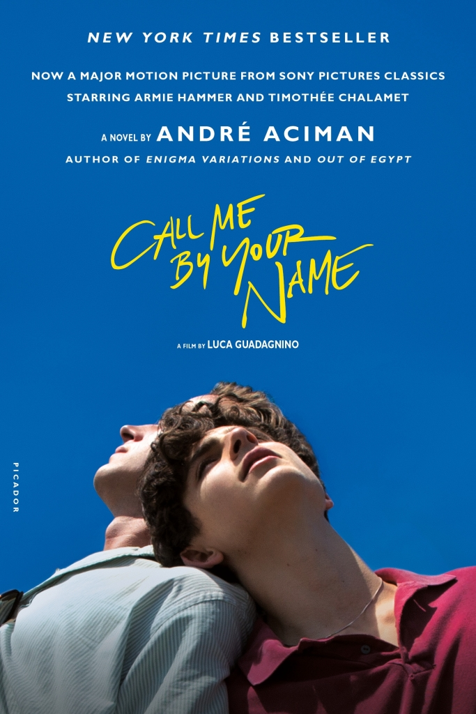 """Call Me by Your Name"" book cover"