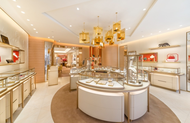 Inside the revamped Cartier Old Bond Street boutique
