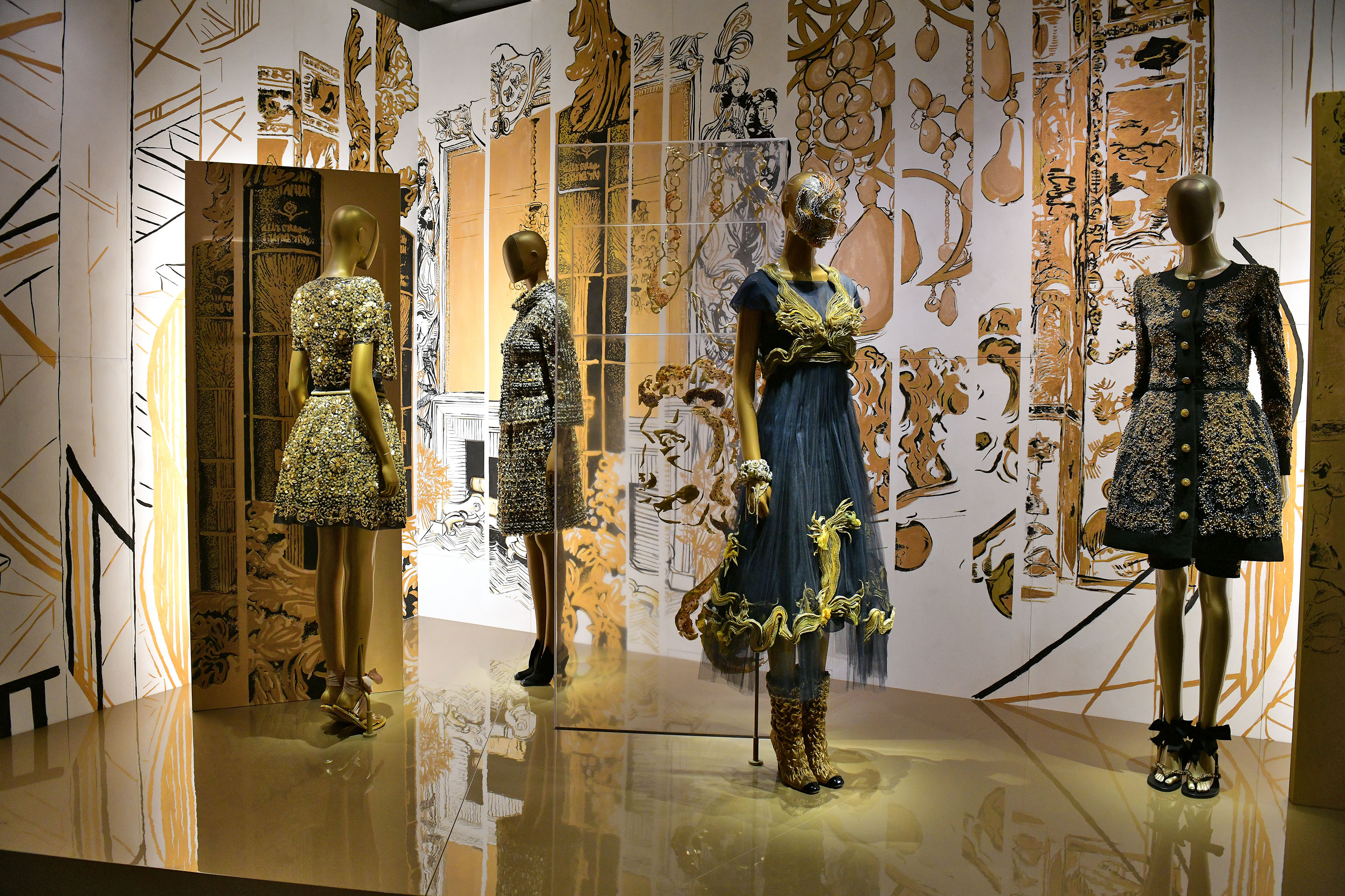 The Chanel Mademoiselle Prive Tokyo exhibition.