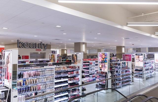 CVS expanded beauty department