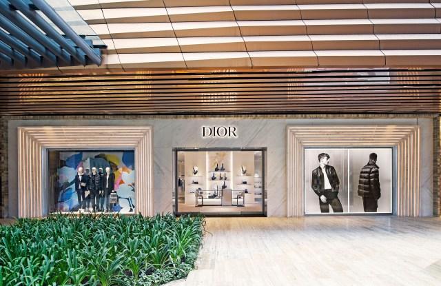 Dior Men's boutique in Mexico City