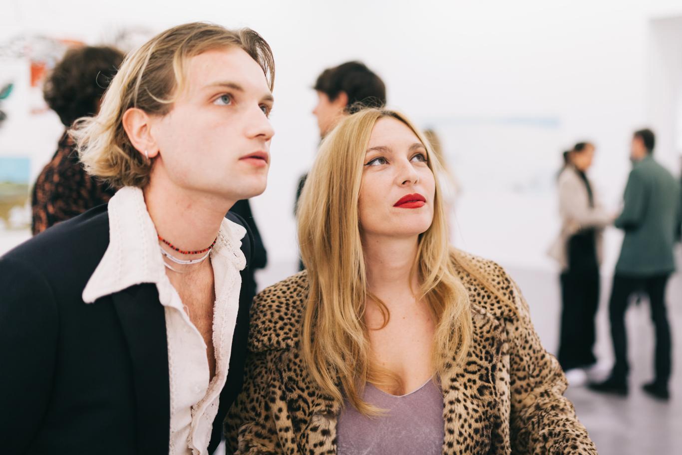 Lukas Ionesco and JosŽphine de La Baume
