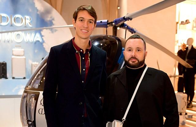 Alexandre Arnault and Kim Jones