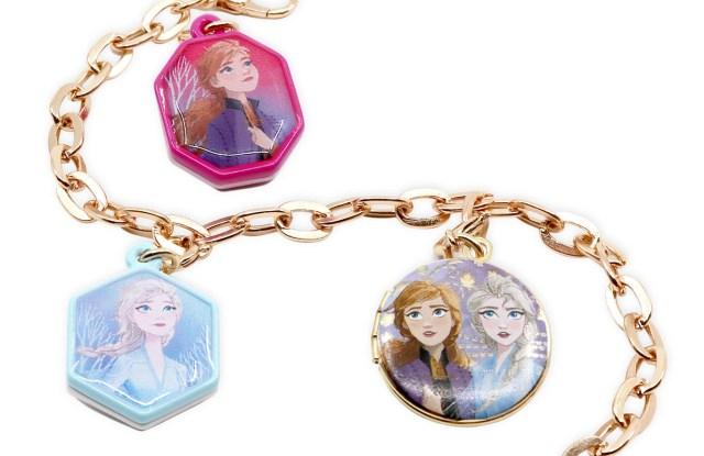 """A """"Frozen 2"""" charm bracelet at Saks."""