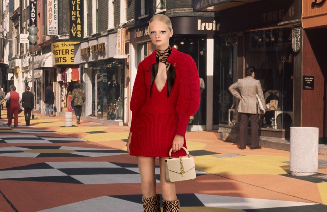 Unia Pakhomova, the face of Gucci, will appear as a game avatar in Drest.