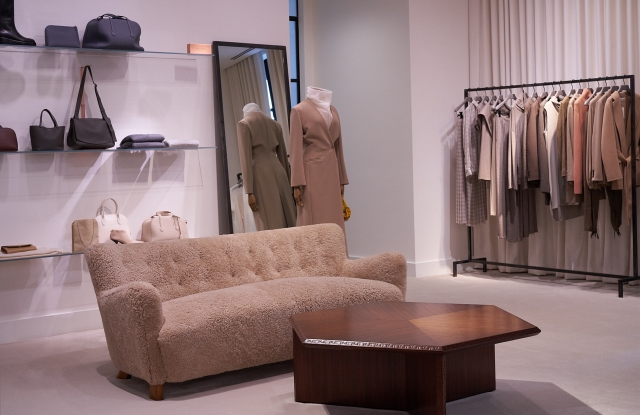 The Row's store-in-store at Forty Five Ten in Dallas.