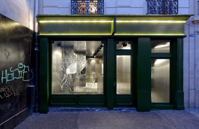 The first Enfants Riches Déprimés store in Paris.