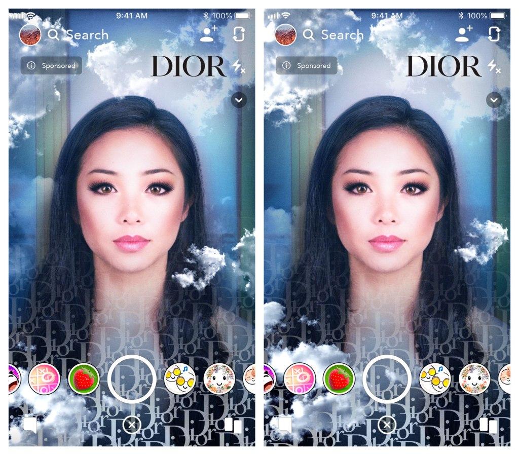 Dior Debuts Snapchat AR Lenses For Dior X Rimowa Luggage WWD