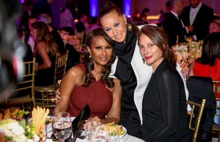Iman, Donna Karan, Christy Turlington