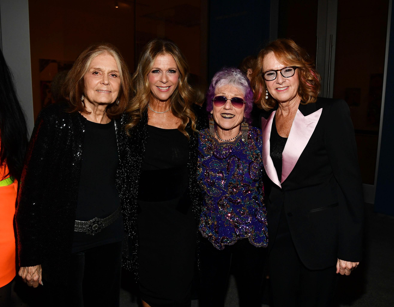 Gloria Steinem, Rita Wilson Judy Chicago and Ann Philbin