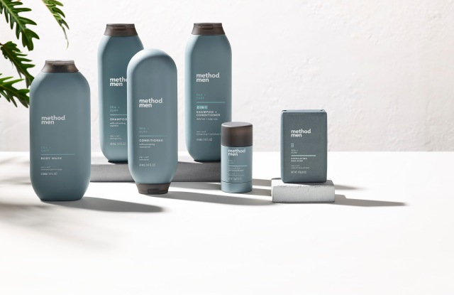 Method Men sea and surf fragrance products