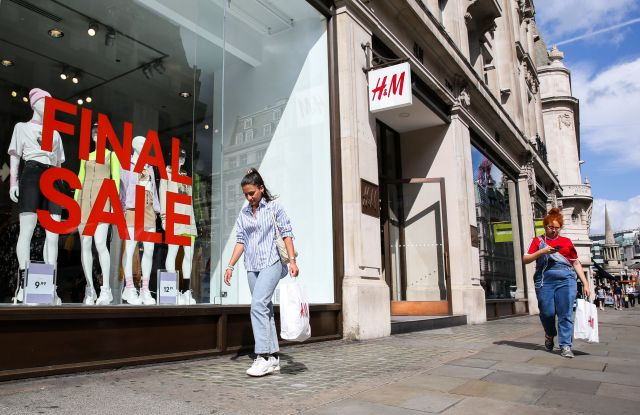 H&M London Hennes & Mauritz