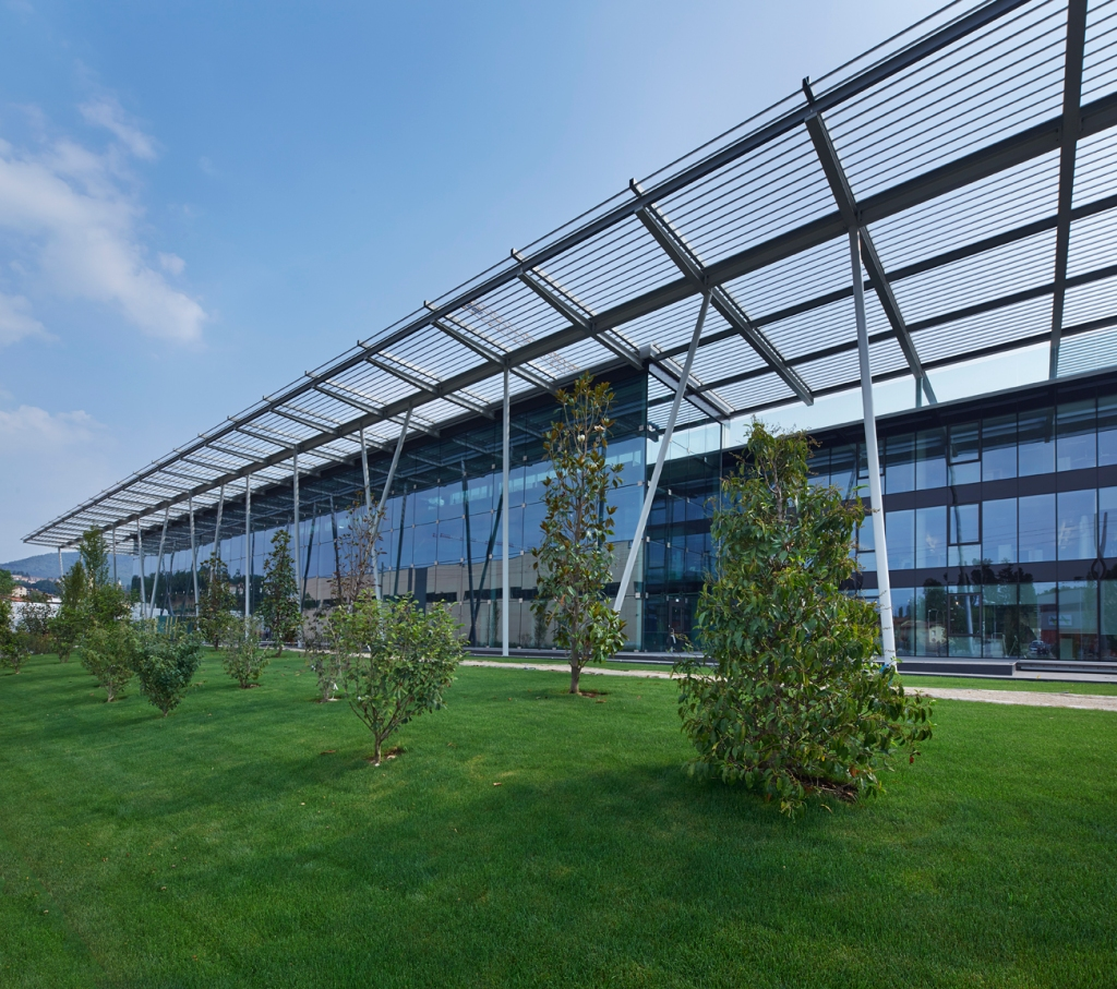 VF Corp.'s EMEA headquarters in Stabio, Switzerland.